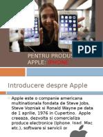 Segmentarea Pietii Pentru Produsul Apple