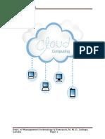 Cloud Computing Doc
