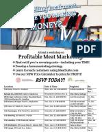 Profitable Meat Marketing Workshops