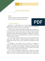 1986 - Carta de Washington