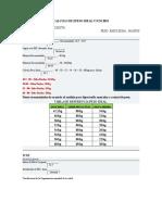 Calculo de Epeso Ideal y Icm Ibm Octubre