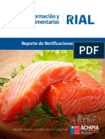 Reporte Notificaciones RIAL 2015 CHILE
