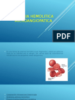 Anemia Hemolitica Microangiopatica