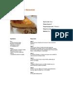 Cheesecake de Duraznos