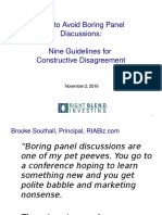 BrightTALK Constructive Disagreement 2016 Nov 2