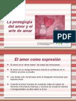 Tema 2 La Pedagogia y El Arte de Amar 1