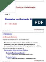 1 - Mecânica Do Contacto Hertziano