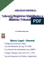 Libros y Registros Vinculado a Asuntos Tributario