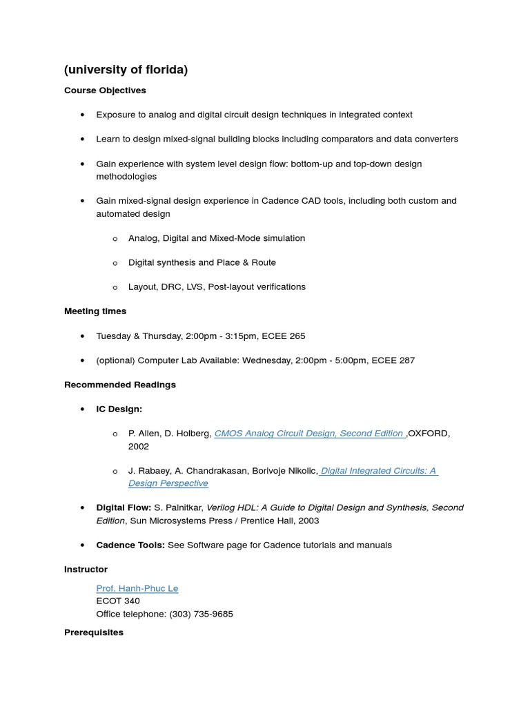 mixed signal design docx electronic circuits mixed signal rh es scribd com Mixed-Signal Systems Composite Signal