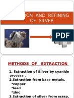 Extraction of Silver