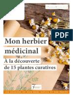 Mon Herbier médicinal (15 plantes curatives)