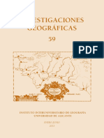 investigaciones geologicas