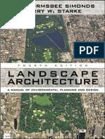Simonds - Landscape-Architecture - Fourth Edition