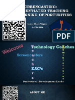 screencasting- differentiated teaching and learning opportunities