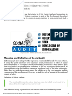 Social Audit _ Definition _ Objectives _ Need _ Disclosure of Information.pdf