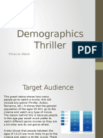 Demographics Thriller