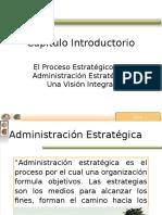 El Proceso Estratégico y la Administración Estratégica:Una Visión Integral