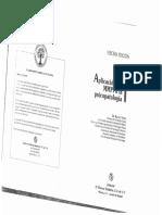 Núñez 1999 Aplicación Del MMPI a La Psicopatología