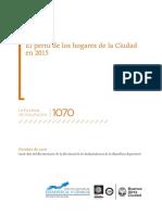 El Perfil de Los Hogares de La Ciudad 2015