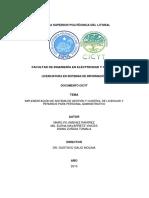 Implementacion de Un Sistema de Gestion y Control de Licencias