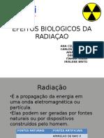 Efeitos Biologicos Da Radiaçao Ionizante