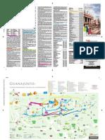 Mapa Turístico de Guanajuato