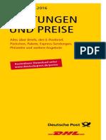 Leistungen Und Preise 092016