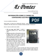 Informacion Cambio Contadores