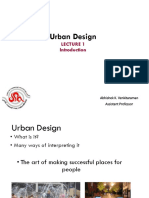 Introduction to Urban Design