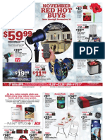Seright's Ace Hardware November 2016 Red Hot Buys