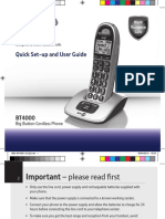 Bt4000 User Guide [