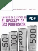 La crisis del Estado Español