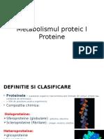 Metabolism Proteic - Lp 1 Electroforeza 11.04.2016