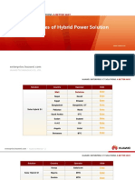 HUAWEI Hybrid Power Solution Success Cases