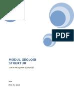Modul Geologi Struktur