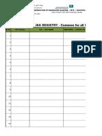 JSA Registry Updated 09Jun11