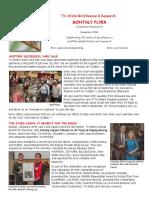 November 2016 Volunteer Newsletter