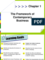 1. the Framework of Contemporary Business