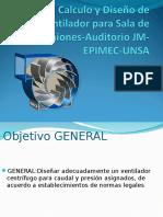 Diseño de Ventilador - JM