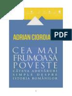 Cioroianu Adrian Cea Mai Frumoasa Poveste v.1.0