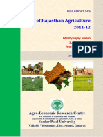 State of Rajasthan Agriculture
