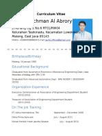 Taufiq's Resume Edited