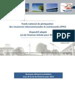 Fond National de Perequation