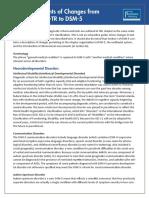 changes from dsm-iv-tr to dsm-5.pdf