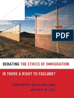 Debating the Ethics of Immigration, Is There a Right to Exclude