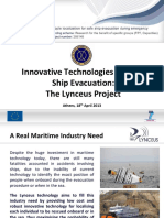 Ship Evacuation Innovative Technologies