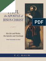 Baur, F - Paul the Apostle of Jesus Christ
