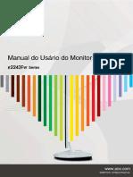 Manual Monitor AOC e2243FW