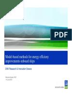 2012.06 DNV Model-based methods for energy efficiency improvements onboard ships