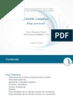 Variable Compleja Flujo Potencial }